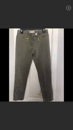 Women's Michael Kors Green Olive Pants size:4 for Sale in Murfreesboro,  TN