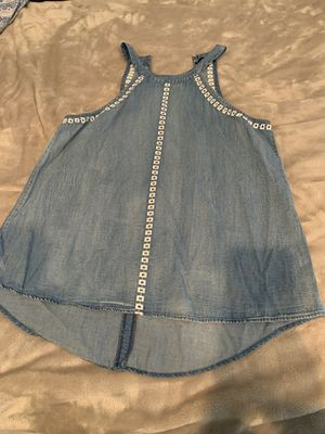 Denim top. Never worn for Sale in San Bernardino, CA