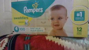 Pampers Swaddlers size 4 100 ct for Sale in Denver, CO