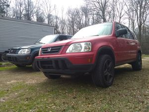 1998 honda crv 4x4 and a red 1999 Honda CRV sold together or trade for Sale in Colbert, GA