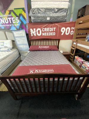 Queen Bed Frame & Queen Mattress for Sale in Los Angeles, CA