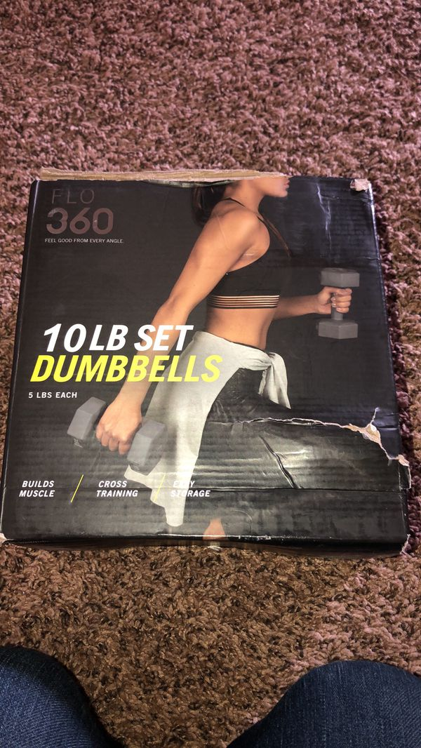 10lb set of weights new