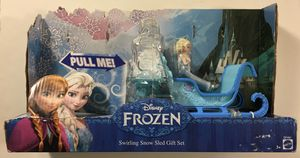 Disney Frozen Swirling Snow Sled Gift Set Elsa & Anna Playset - NEW for Sale in Laurel, MD