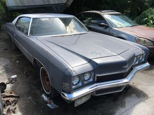 1972 Chevy Chevrolet impala for parts 1971 1973 1974 1975 1976 for Sale in Miami, FL