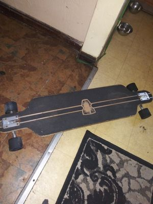 Upgraded longboard brand new used maybe 3 times for Sale in Saint Petersburg, FL