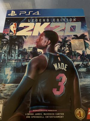 NBA 2K20 legend edition for Sale in Medford, MA
