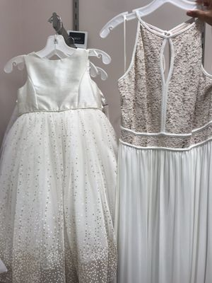 Brides maid gown and flower girl dress for Sale in Morrisville, NC