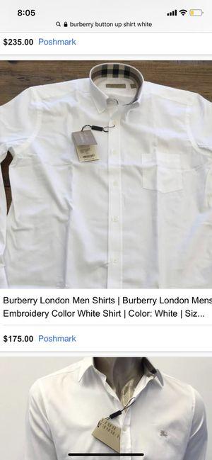Burberry London Shirt for Sale in Joplin, MO