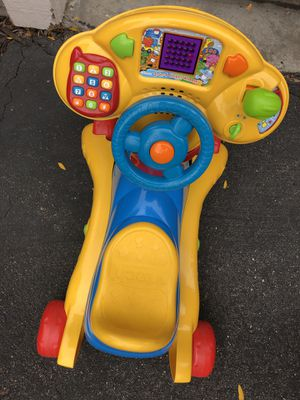 Vtech ride and learn Bike for Sale in Eden Prairie, MN