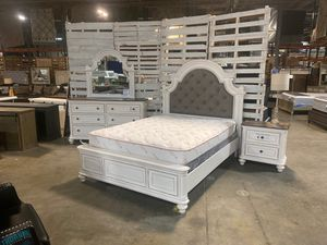 Queen bed frame special! Was $1192 now only $657 take home with only $39 down! for Sale in La Vergne, TN