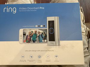 Ring doorbell pro for Sale in Union City, NJ