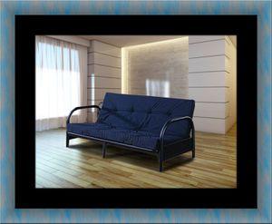 Black futon bunkbed frame for Sale in Potomac, MD