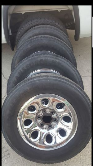 17s for gmc chevy trucks and suv for Sale in West Puente Valley, CA