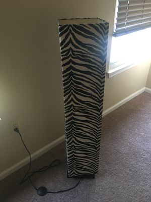 zebra floor lamp for Sale in Lanham, MD