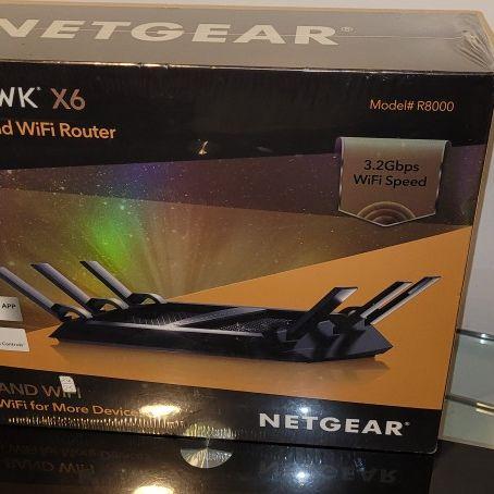 NEW NetGear Nighthawk X6 AC3200 Tri-Band WiFi