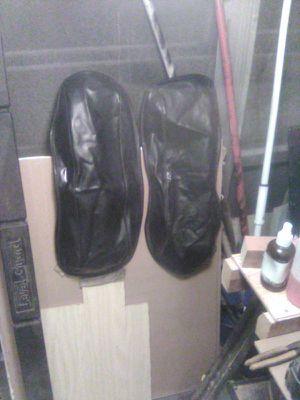 Harley Davidson hard bag lid covers for Sale in Summerfield, FL