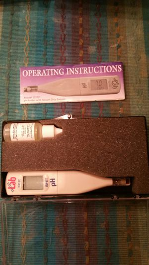 PH monitor with sensor for Sale in Glendale, CA
