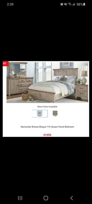 7 Piece Bedroom Set for Sale in SUNNY ISL BCH, FL