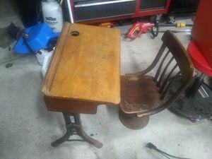 1900,s school desk for Sale in Johnston, RI