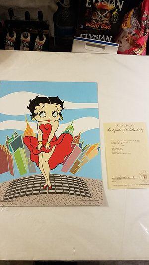 Betty Boop/Marilyn Monre for Sale in Renton, WA