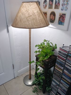 Beautiful unique floor lamp can deliver! for Sale in Fort Lauderdale, FL
