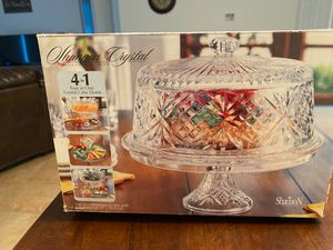4 in 1 Crystal Cake Dome for Sale in Rockledge, FL