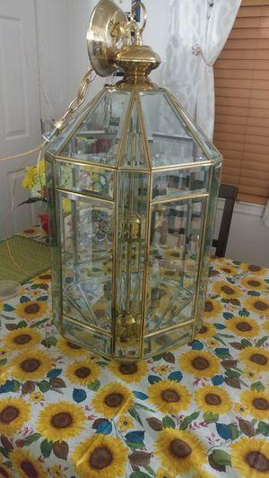 Brass 2-Tier Chandelier for Sale in S CHESTERFLD, VA
