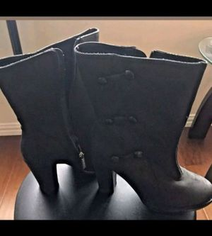 WOMEN'S HARLEY DAVIDSON LEATHER ANKLE BOOTS. SIZE 5. for Sale in North Las Vegas, NV