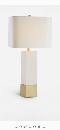 New Jonathan Y Marble Table Lamp for Sale in Modesto,  CA
