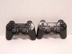 2 Sony PS3 Wireless Controllers for Sale in Cypress, TX