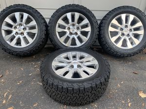 Tundra/Sequoia rims paired with Ko2 tires for Sale in Kirkland, WA