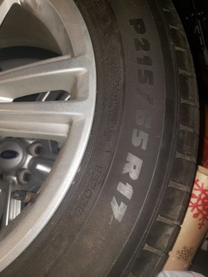 2012 Mustang stock rims and tires for Sale in Sanford, FL