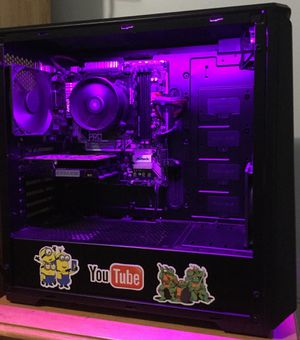 Gaming PC Custom Built (ASK FOR VIDEO PROOF THAT IT WORKS) for Sale in Annandale, VA