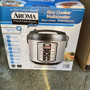 Aroma Rice Cooker New In Box for Sale in Tacoma, WA