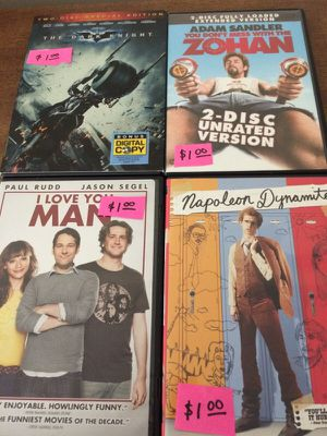 DVDs $1.00 for Sale in Knoxville, TN