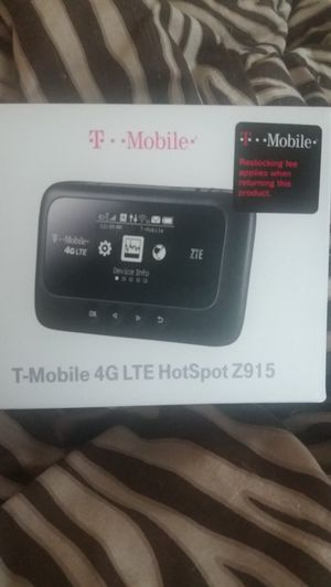 T-Mobile 4GLTE Hotspot Z915 for Sale for sale  Brick, NJ