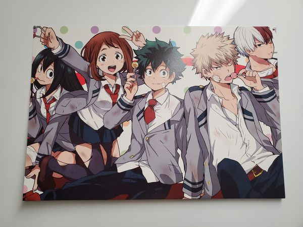 Japanese anime set of 4 my hero academia posters 11.5 x 16.5 inches each 01