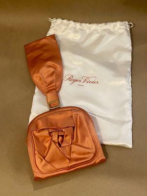 Roger Vivier Rose Bracelet Soft Clutch for Sale in Los Angeles, CA