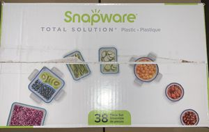 Snapware 38 pc Storage Containers for Sale in Greer, SC