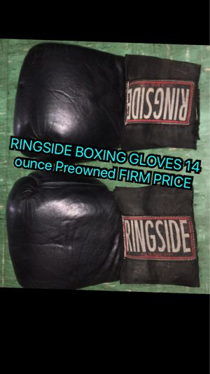 Boxing gloves firm price for Sale in Los Angeles, CA