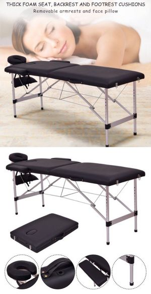 "New 72"" Foldable Portable Massage Table Facial Spa Tattoo Bed 500lbs Capacity for Sale in Whittier, CA"