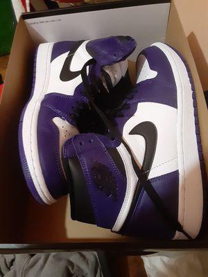 Court purple jordan 1 for Sale in Chicago, IL