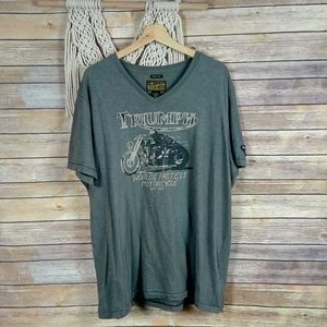 Lucky Brand | Triumph Motorcycle Graphic Tee- SZ XXL for Sale in Las Vegas, NV