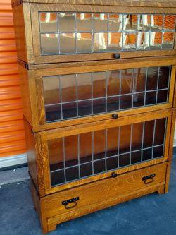 Antique Craftsman Stack Bookcase for Sale in Redondo Beach,  CA