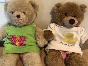 2pcs Build a Bear Stuffed Toy for Sale in New York,  NY