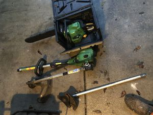 John deer chainsaw & weed whacker for Sale in Orlando, FL