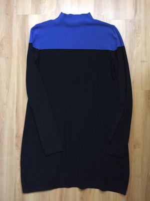 Black blue Ann Taylor sweater dress size medium for Sale in Anaheim, CA