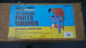 Chicago Electric Power Tools 20 Gallon Parts Washer para lavar partes for Sale in Miami, FL
