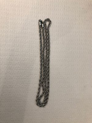 """Silver Slim Rope Chain (3MM) 30"""" for Sale in City of Industry, CA"""