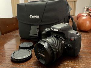 Canon EOS Rebel T7i US 24.2 Digital SLR Camera, WiFi-Bluetooth camera, 32G card for Sale in Miami, FL